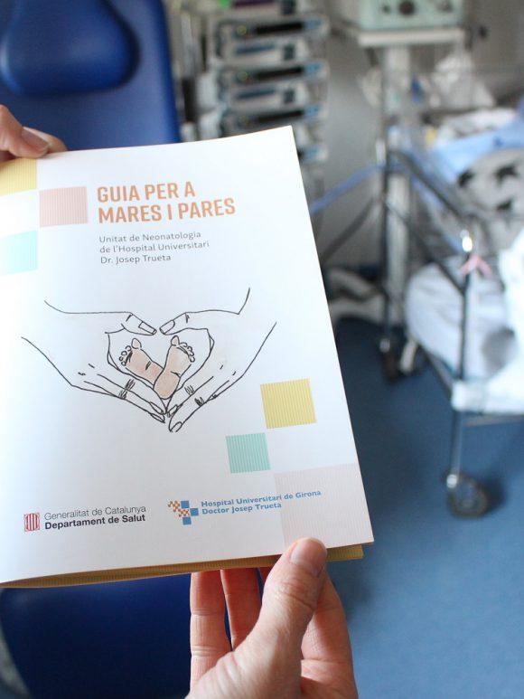 L'ATA col·labora en l'edició d'una guia per a pares i mares de la Unitat de Neonatologia de l'Hospital Trueta