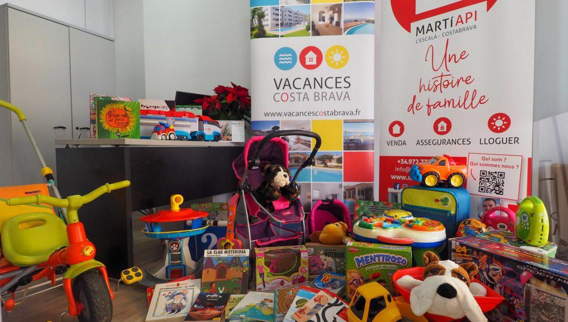 L'ATA col·labora amb Creu Roja Joventut en la recollida de joguines